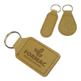 Image of Eco Natural Leather Key Ring